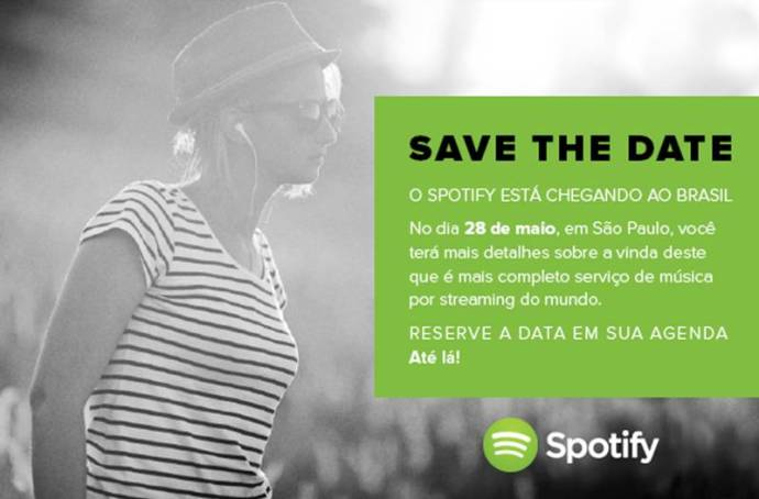 spotify 720x474 - Spotify anuncia chegada oficial ao Brasil no dia 28 de maio