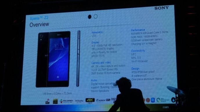z2 720x405 - Sony Brasil lança Xperia Z2, Xperia Z2 tablet e SmartBand