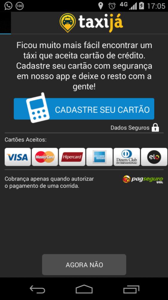 Taxija Screenshot 2014 06 11 17 05 32 562x1000 - Aplicativo Taxijá é comprado pelo UOL