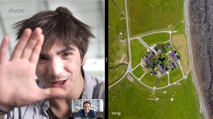 windows 8 skype snap 720x404 - iOS 8: descobertos recursos não anunciados pela Apple