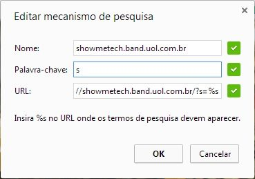 Google Busca SMT 02 - Adicione os sites que você visita como fonte de busca no Chrome