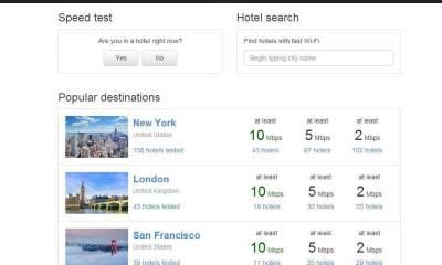 hotelwifitest1 - Descubra a qualidade da internet dos hotéis