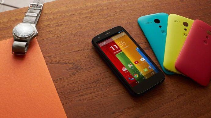 moto g colors 720x404 - Confirmado: Moto X e Moto G receberão o Android L