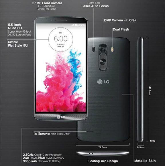 LG G3 final 3 - Review: smartphone LG G3, a revolução da LG