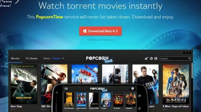 Popcorn Time Android Windows Mac OS PC Linux iOS Apple TV Chromecast 720x401 - Popcorn Time, o Netflix dos piratas, continua avançando