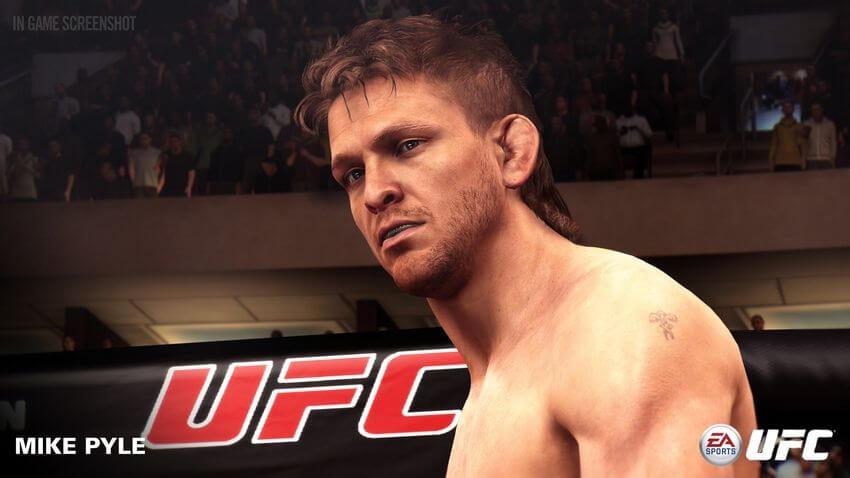 ufc mike pyle 02 - Jogo UFC da EA Sports recebe três novos lutadores