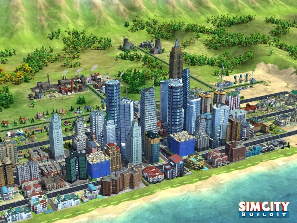 SimCityB 01 - SimCity Buildit agora para Android e iOS