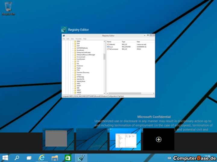 Windows Technical Preview 1 720x540 - Vazam as primeiras imagens da próxima versão do Windows (e um vídeo!)