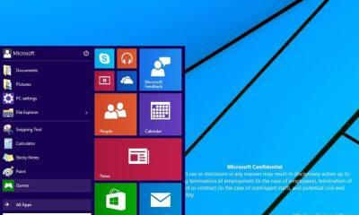 Windows Technical Preview 1 - Vazam as primeiras imagens da próxima versão do Windows (e um vídeo!)