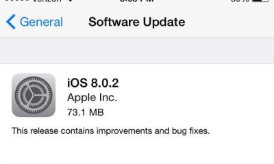 apple ios 8 0 2 - Apple libera nova atualização iOS 8.0.2