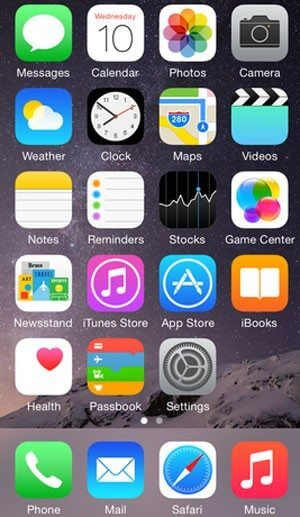 iOS8-Apple-telainicial