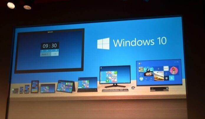 vrg 1060 - Microsoft apresenta o Windows 10 para computadores, smartphones e tablets