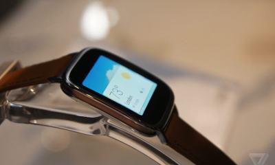 vs09 03 1114s verge super wide - Asus Apresenta ZenWatch, relógio com Android Wear