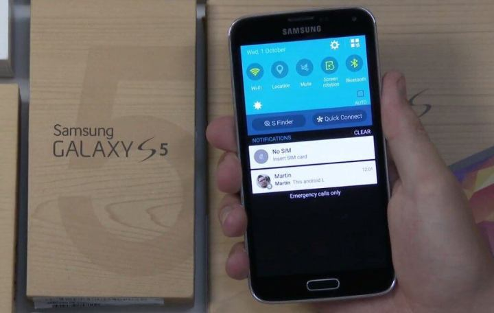 android l galaxy s5 720x456 - Confira a cara do novo TouchWiz no Android L