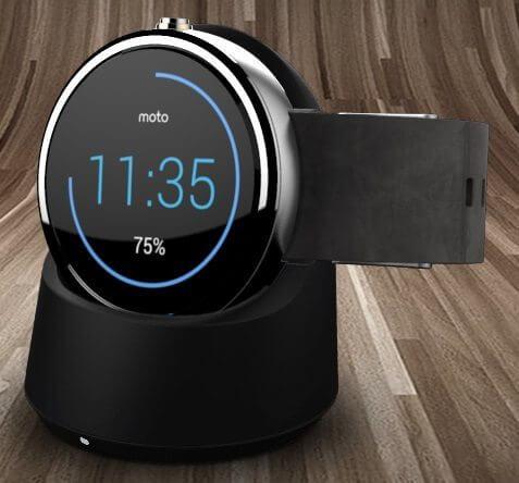 dock sem fio de carregameto - Moto 360 x Gear S x G Watch R