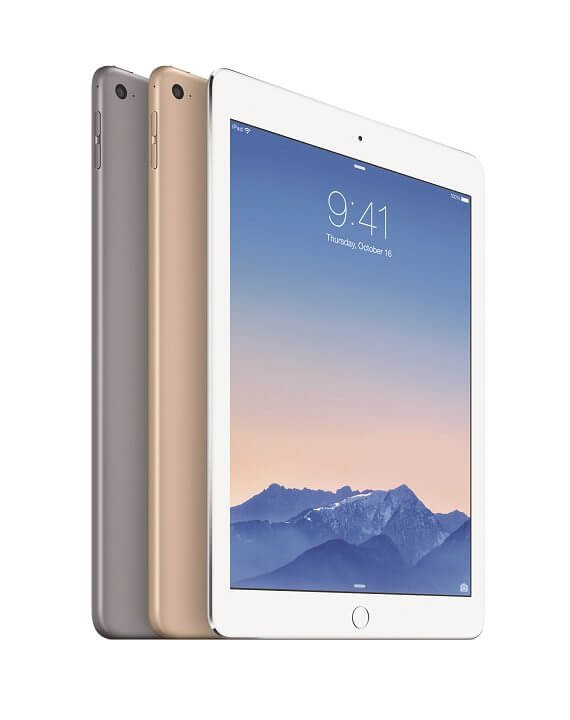 ipad air 2 cores1 - Apple lança novos iPad Air 2 e iPad Mini 3