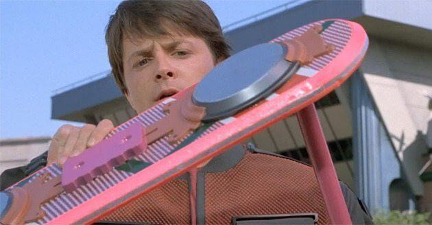 mattel hoverboard back to the future - Futuro: empresa cria skate que flutua no ar e impressiona Marty McFly