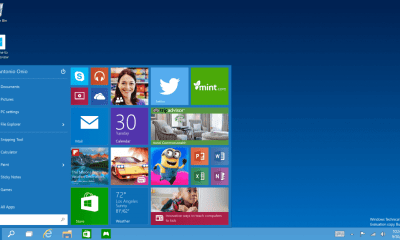 windows 10 technical preview start menu - Windows 10 Technical Preview já está disponível para download
