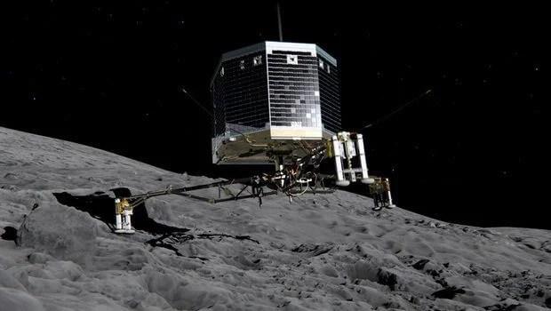 modulo sonda espacial philae rosetta - Módulo espacial faz pouso inédito em cometa