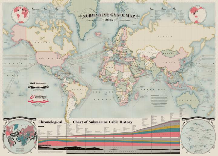 submarine cable map 1024x737 720x518 - Google financiará novo cabo de fibra óptica submarino entre Brasil e EUA