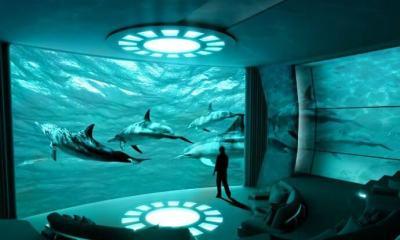 yacht com imax repforbes 3 - Maior iate do mundo terá sala de cinema IMAX