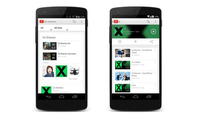 YouTube anuncia o Music Key, serviço de músicas e vídeos