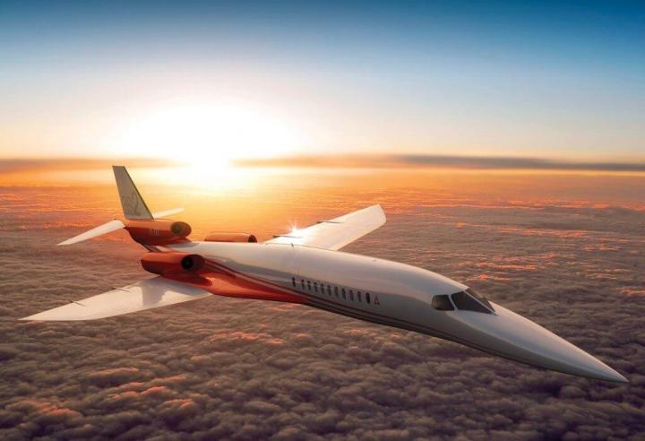 aerion as2 720x492 - Nova aeronave supersônica deve reduzir pela metade a duração de viagens