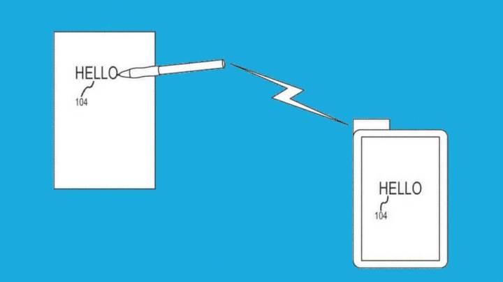appla patente caneta transfere conteudo 720x404 - Apple garante patente de caneta inteligente que pode copiar escrita manual para o iPad