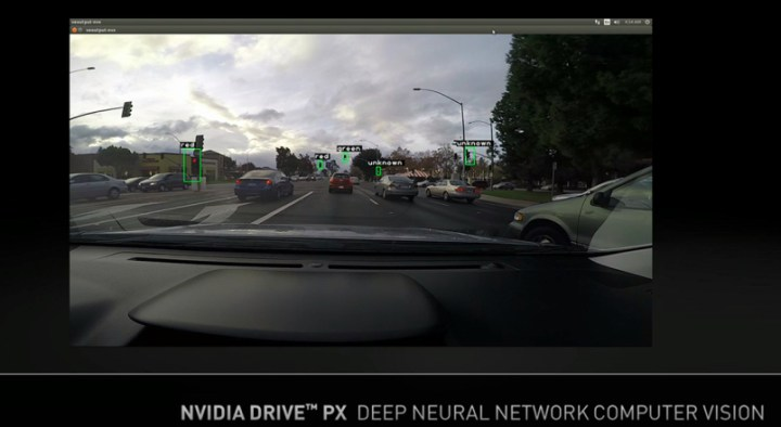 drive px lights2 720x394 - CES 2015: Nvidia mostra sistema de entretenimento informativo Tegra X1 para automóveis
