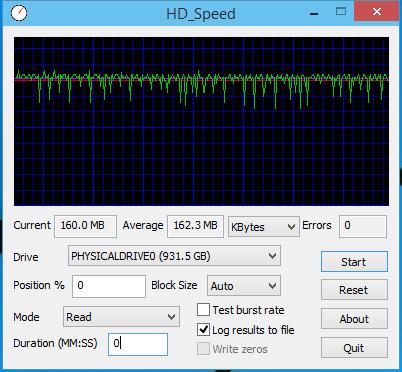 hd speed results smt - Review: HD 1TB Western Digital Blue (WD10EZEX)