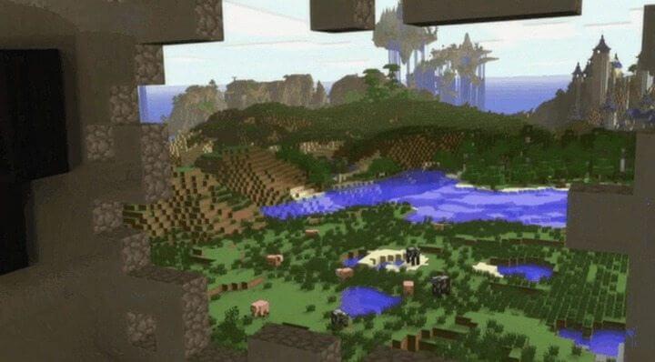 hololens minecraft one 720x398 - Realidade Aumentada: Novo óculos da Microsoft será capaz de criar hologramas