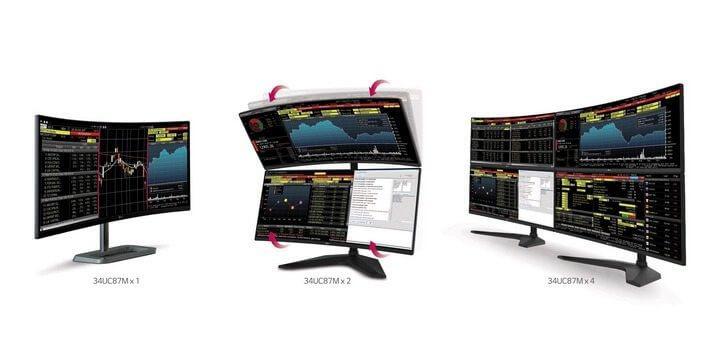 Novos monitores da LG em destaque na CES 2015
