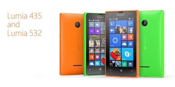 lumia435 - Bons e Baratos: Microsoft anuncia smartphones Lumia com excelente custo-benefício