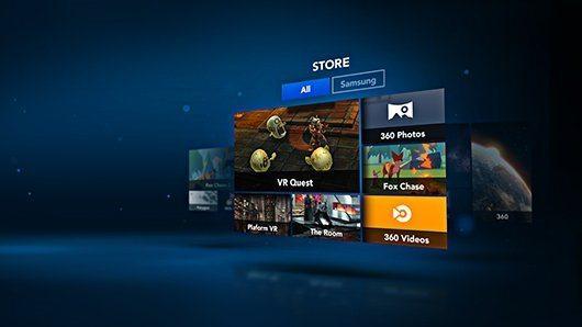 Milk Realidade Virtual Gear VR conteudo servico videos aplicativos