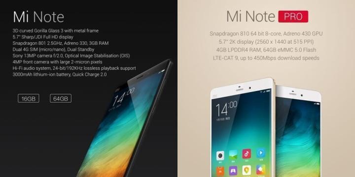 minote3 720x360 - Xiaomi Mi Note é um phablet de muito respeito
