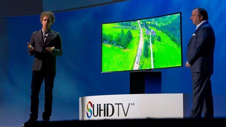 Samsung SUHDTV cube