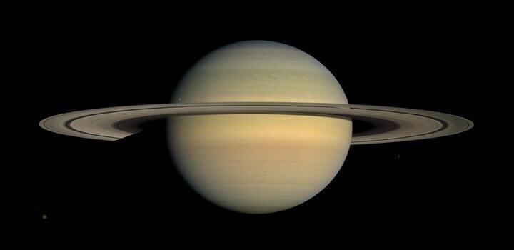 saturnhubble 720x350 - Novo Senhor dos Anéis? Planeta tem sistema 200 vezes maior que Saturno