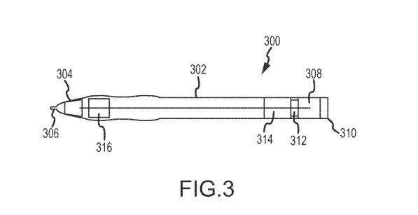 stylus pen 2 - Apple garante patente de caneta inteligente que pode copiar escrita manual para o iPad