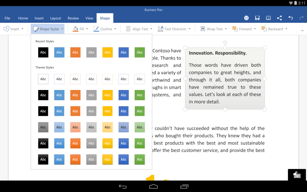 Word-for-Android-Preview-3
