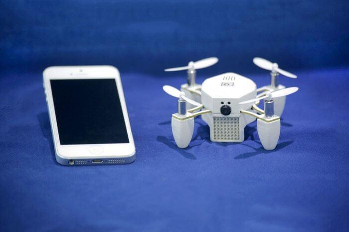 zano - Com o Zano Drone, faça suas selfies nas alturas