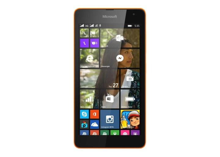 lumia535 front orange dsim 720x514 - Lumia 535 Dual SIM chega ao Brasil