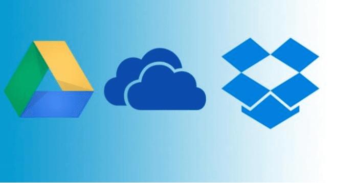 OneDrive-GoogleDrive-DropBox