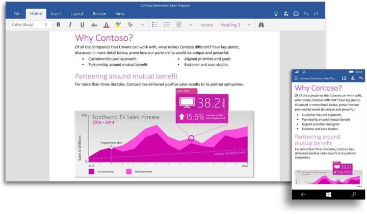 worduiwindows10 720x420 - Baixe agora o novo Office 2016 da Microsoft