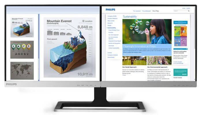 19dp6qjns brilliance monitor lcd led 2 em 1 3 - Review: monitor duplo Philips Brilliance LCD LED (19DP6 / 19DP6QJNS)