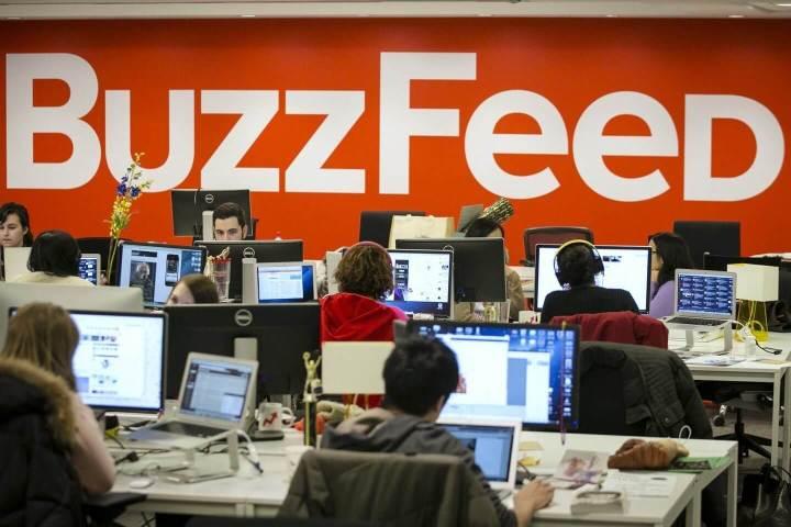 buzzfeed newsroom 1440 720x480 - Alma do negócio? BuzzFeed acredita que o futuro das novas mídias está no conteúdo