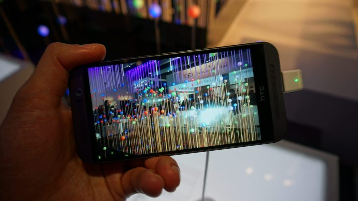 dsc00689 720x404 - MWC15: hands-on HTC One M9 - é mesmo tudo isso?