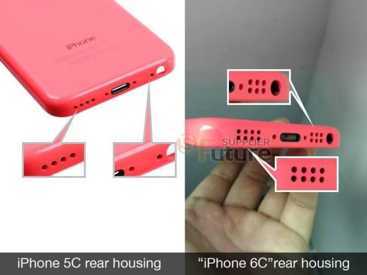 iphone 6c rear housing 2 720x540 - Novas imagens sugerem novo iPhone 6C com 4 polegadas