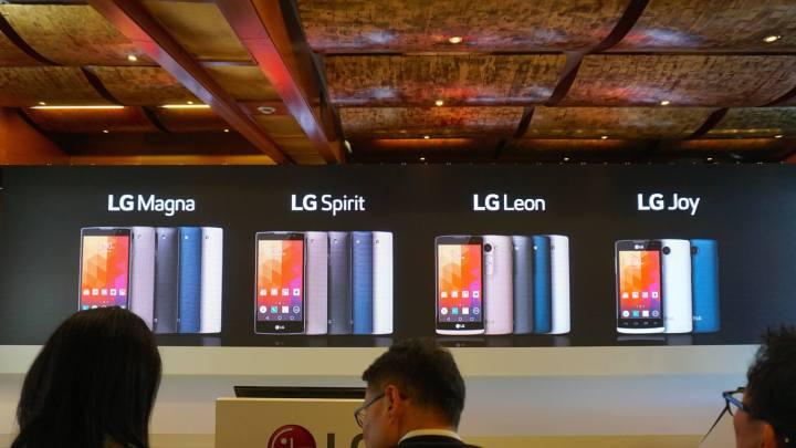 lanamentos lg na mwc 2015 720x405 - LG lança quatro smartphones no MWC15