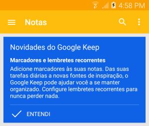 screenshot 2015 03 26 16 58 04 300x254 - Google Keep  v3.1 agora com lembretes recorrentes e Marcadores