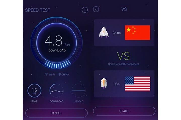speedtest 720x480 - DU Speed Booster promete deixar seu Android até 60% mais rápido